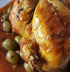 Moroccan chicken from the oven - Ellouisa: Moroccan chicken from the oven - Moroccan Kitchen, Couscous Recipes, Food Platters, Middle Eastern Recipes, Arabic Food, Healthy Eating Tips, Mediterranean Recipes, Different Recipes, International Recipes