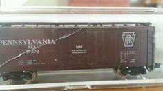 Atlas n-scale 40' box car pennsylvania #Atlas