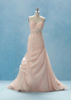 Perfect little mermaid wedding dress