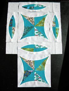 Sew Kind Of Wonderful, interesting quilt block
