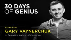 Chase Jarvis welcomes Gary Vaynerchuk as his guest on 30 Days of Genius, a special series of Chase Jarvis LIVE featuring the world's top creative + entrepreneurial minds of our time. Get more actionable insights: http://cr8.lv/1TDdY3m