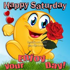 Happy Saturday Enjoy Your Day! good morning saturday saturday quotes good morning quotes happy saturday saturday quote happy saturday quotes quotes for saturday good morning saturday beautiful saturday quotes saturday quotes for family and friends Good Morning Smiley, Good Morning Saturday Images, Happy Saturday Quotes, Saturday Greetings, Lovely Good Morning Images, Good Saturday, Morning Greetings Quotes, Good Morning Picture, Good Morning Messages