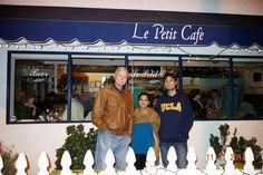 Santa Monica, California: Dining at Le Petit Cafe