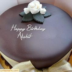 Chocolate Cake With Name Pictures Beautiful Cakes