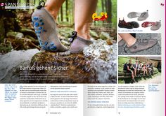 Documentation of a great Paleos hike with the staff of Schneider Print Media GmbH in the periodical edition for their clients! #paleos #chainmailshoes #paleosultra #footprotection #barefootrunning #naturalrunning #barefootshoes #watershoes #watersports #trailrunning #rafting #sailing #kayaking #whitewater #hiking #running #fishing #flyfishing #barfußschuh #minimalistsfottwear #trailrunning #outdoor #outdoorgear #health #lifestyle #vegan