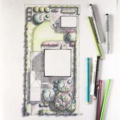 Finally finished it. Free Landscape Design, Landscape Model, Landscape Architecture Drawing, Landscape Plans, Urban Landscape, Landscape Architects, Site Plan Rendering, Site Plan Design, Raised Bed Garden Design