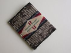 Pendleton wallet  casual mens or womens  front by FilbertFashions, $12.00