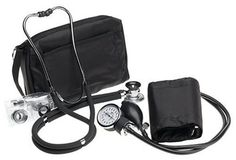 Prestige Sphygmomanometer & Stethoscope Kit With Matching Black Carrying Case, 2015 Amazon Top Rated Sphygmomanometers #HealthandBeauty