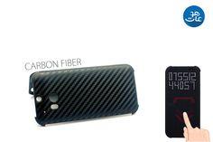 #HTC #Dot View With Mahoot #Carbon Fiber Sticker