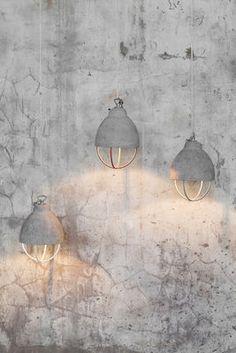 Feeling Pendant - Concrete & metal by Serax