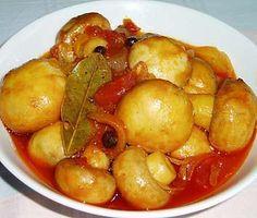 Ελληνικές συνταγές για νόστιμο, υγιεινό και οικονομικό φαγητό. Δοκιμάστε τες όλες Greek Beauty, Greek Recipes, Family Meals, Catering, Stuffed Mushrooms, Sweet Home, Food And Drink, Vegan, Fruit