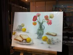 Riku Marumo's work  2012 Feb  at OCHABI, Tokyo, Japan