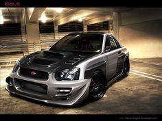 .: Subaru WRX :. by Klaus-Designs on deviantART