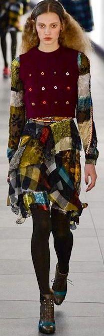 Preen by Thomton Pregazzi ready-to-wear fall 2015