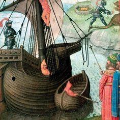 Roman de la Rose (Romanzo della Rosa)  [Ms.Harley 4425 - © The British Library - Bruges, 1490 ca.]