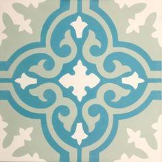 zementfliesen -> VN Azule 16 - Designfliesen