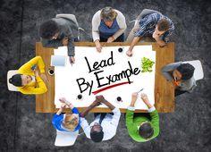 """A responsabilidade de gerir uma equipa está em preparar o caminho através do exemplo, de forma a que as pessoas tenham vontade de crescer, estudar, partilhar a visão e mostrar o caminho """"trilhado"""" por alguém com sucesso. Se pensarmos um pouco, como crescem as comunidades?: http://checkthisout.me/importancia-do-exemplo +info: http://atrairclientes.com/"""