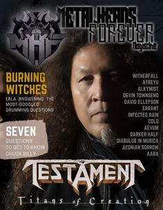 The new issue of MHF magazine is here, featuring Testament! David Ellefson, Getting To Know, Magazines, Interview, Alternative, How To Get, This Or That Questions, Lifestyle, Sayings