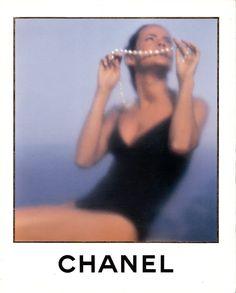 Nadege du Bospertus for Chanel, 1993