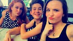 Maria Pinna,João Guilherme e Larissa Manoela