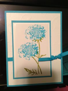 Field Flowers  - Stampin Up Card