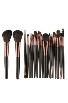 pincel maquiagem makeup Brush cepillo brosses 2018 18 pcs Makeup Brush Set tools Make-up Toiletry Kit Wool dropshipping fashion. Product ID: Diy Makeup Brush, Best Makeup Brushes, Eyeshadow Brushes, Eyeshadow Makeup, Best Makeup Products, Eyeliner, Makeup Set, Beauty Products, Makeup Brands