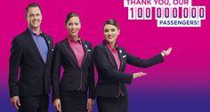 Wizz Air a transportat 100 de milioane de pasageri