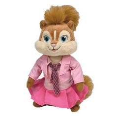 ebee8afbac7 2017 16cm Alvin and the Chipmunks 4 toys Brittany Mouse Stuffed Animals  Plush Doll Alvin Et
