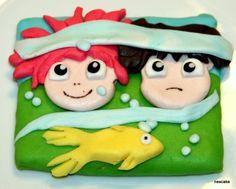 Miyazaki Ponyo Cookies from nescake