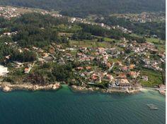 Playa Cova da Balea (33) Pequeña playa de acceso peatonal, que se cubre con la marea alta..  Longitud:50 m. Anchura media:0 m. / con marea alta  Posición GPS: 42º 17´ 07,65 ´´ N // 8º 49 ´ 19,89´´ O