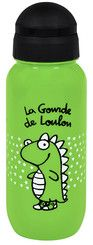 Gourde enfant pif loulou- cadeau naissance garçons - DERRIERE LA PORTE Water Bottle, Drinks, Drinking, Beverages, Water Flask, Water Bottles, Drink, Beverage, Cocktails