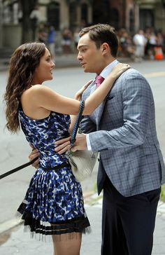 Gossip Girl - Chuck and Blair....meant to be! I have recently become OBSESSED with this show! Thanks a lot Netflix!