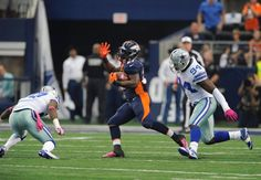 Broncos at Cowboys, In Game Photos.