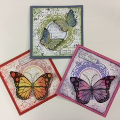 Created using Kaszazz products by Julie Storti Butterfly Cards, Card Designs, Facebook Sign Up, Scrapbooking Ideas, Cardmaking, Butterflies, Workshop, Gallery Wall, Crafting