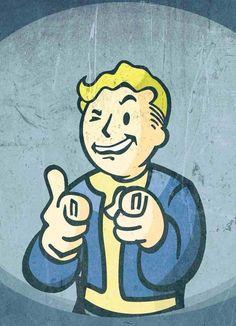 Vault Boy Wallpaper #Fallout