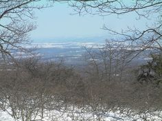 View from High Point, NJ.  At 1803 feet, it's the highest point in NJ.
