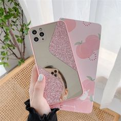 Glitter Mirror Cute Phone Case For iPhone 11 Pro Max XS Max XR X 7 8 Plus SE 2020 11Pro Retro Cute Sequins Fundas Back Cover | Touchy Style Glitter Phone Cases, Cute Phone Cases, Iphone Phone Cases, Iphone Se, Glitter Mirror, Luxury Mirror, Iphone Models, Candy Colors, Apple Iphone 6
