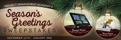 """Project Management Academy's Season's Greetings  Grand Prize Winner - Lenovo 14"""" 2-in-1 Laptop"""