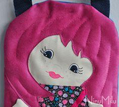 NinuMilu - torebki lalki - handbag dolls for girls: Jak różowo to różowo…