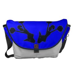 $166.70 CHEERLEADER GYM BAG - PRETTY BLUE FASHION - GIFTS COURIER BAGS - RICKSHAW SOLID CONSTRUCTION & TOP QUALITY