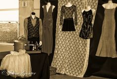Ladies fashion, La Femme Joline: MAMS Expo.  Some items on display.