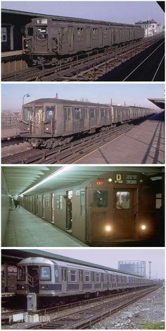 New York Subway, Nyc Subway, Underground Tube, Rail Train, Buses And Trains, Vintage New York, Rhythm And Blues, New York City, Busses