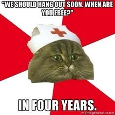 http://lexiloudoo.blogspot.com/2013/06/fake-it-til-you-make-it.html  My funny nursing school blog! #NursingSchool #Nursing #Nursing Humor #NursingBlog