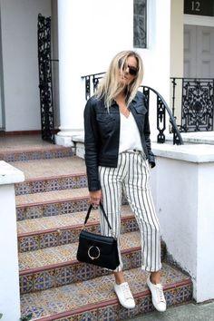 Pantalones Con Rayas: Estos Looks Te Convencerán De Que Necesitas Unos | Cut & Paste – Blog de Moda