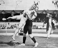 Martin Klein and Alfred Asikainen, whose wrestling bout lasted for 11 hours and 40 minutes at the 1912 Stockholm Olympic Games