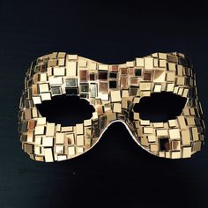 A personal favorite from my Etsy shop https://www.etsy.com/uk/listing/245160769/gold-gaga-curve-masquerade-mosaic-style