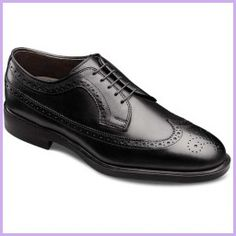 5e917391d224 Shopping Tips - Allen Edmonds Oxford Wingtips 3114 Black Leather 10.5 3E  Cow Leather