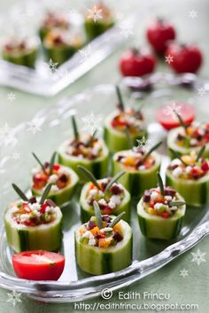 cucumber appetizer - Click image to find more popular food & drink Pinterest pins