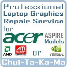 Acer Aspire 5720G Laptop Graphics Repair - nVidia VG.8PG06.001 8600M Video Cards £29.95