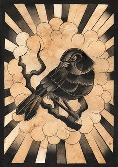 crow print :)
